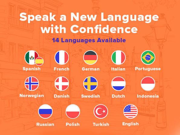 Babbel Language Learning Screenshot