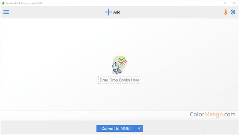 Epubor eBook Converter Screenshot