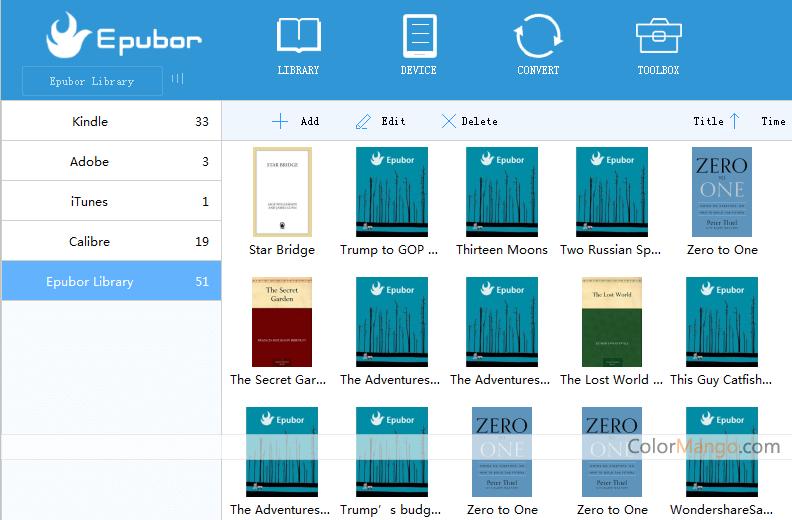 Epubor Pro Screenshot