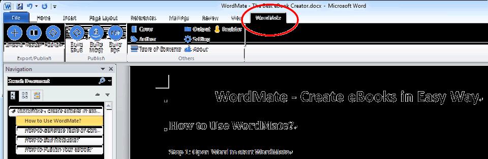 Epubor WordMate Screenshot
