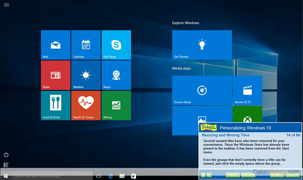 Professor Teaches Office 2019 & Windows 10 Screenshot