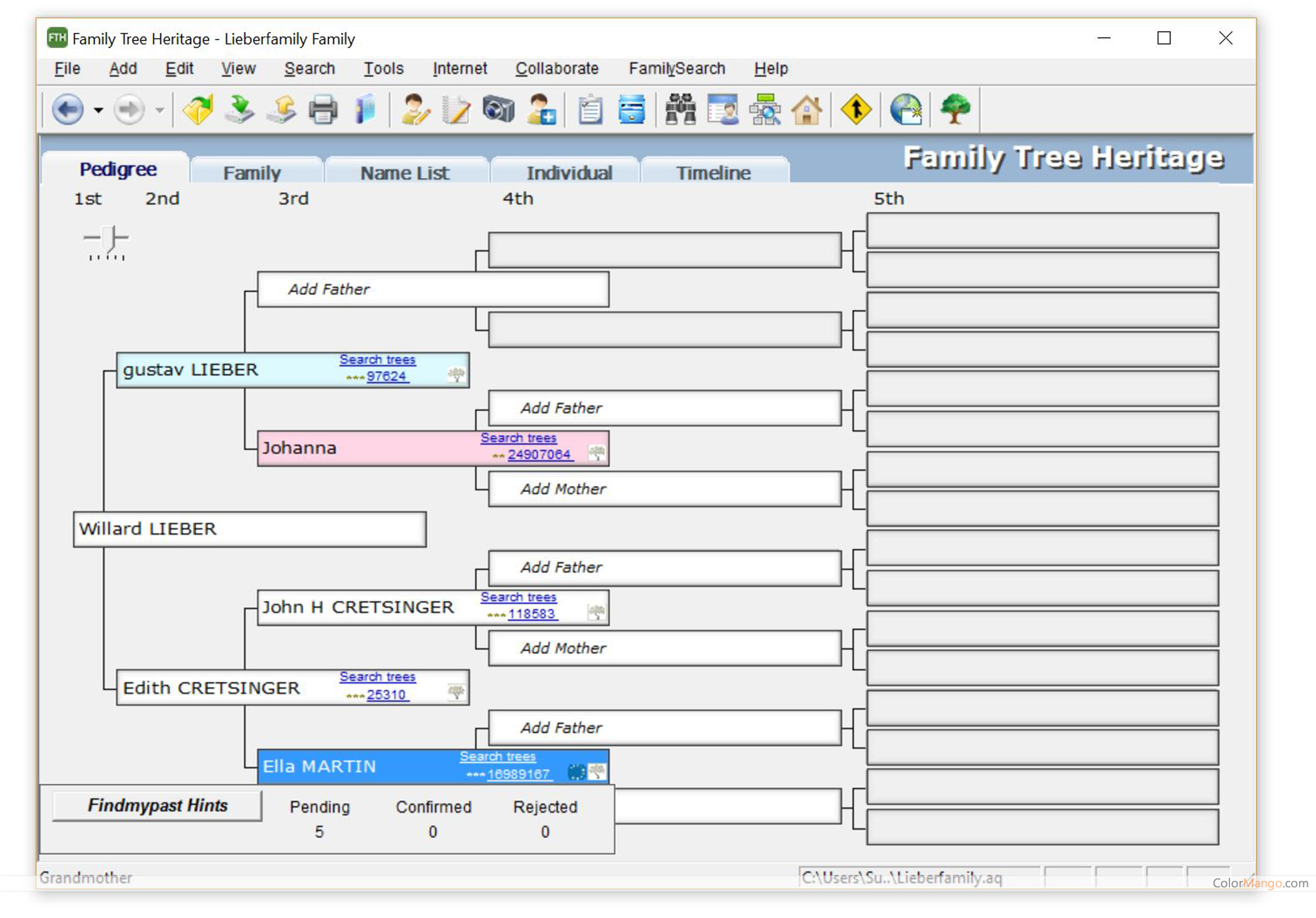 Will & Estate Planning with Family Tree Bundle Screenshot