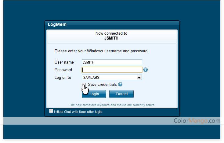 LogMeIn Pro Bildschirmfoto