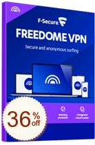 F-Secure Freedome VPN Discount Coupon