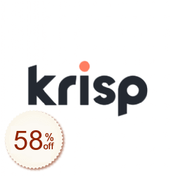 Krisp Discount Coupon