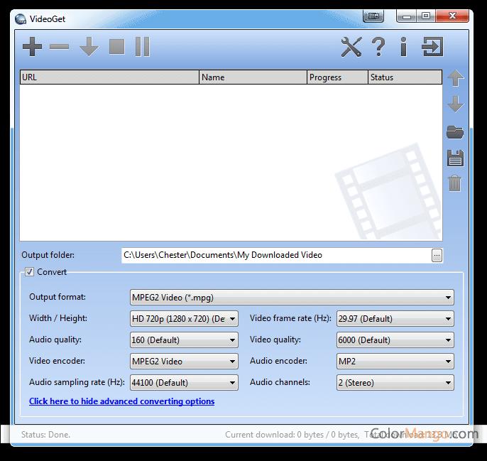 VideoGet Screenshot
