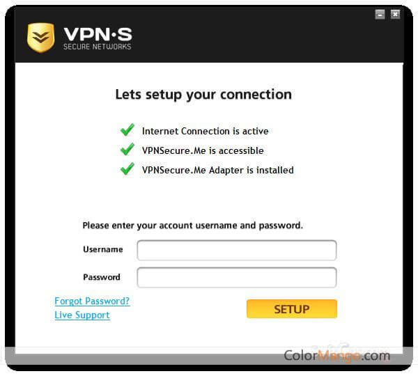 VPNSecure Screenshot