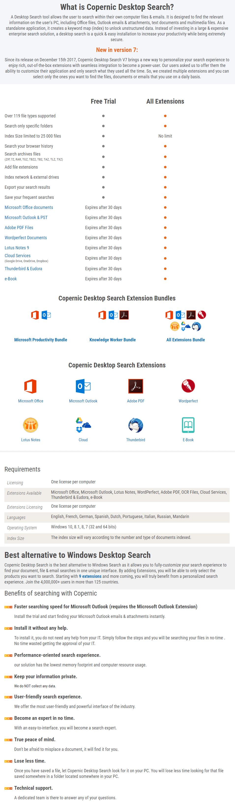 Copernic Desktop Search 30% Discount