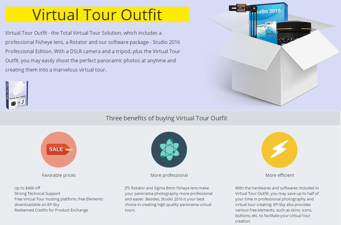 Virtual Tour Outfit Feature