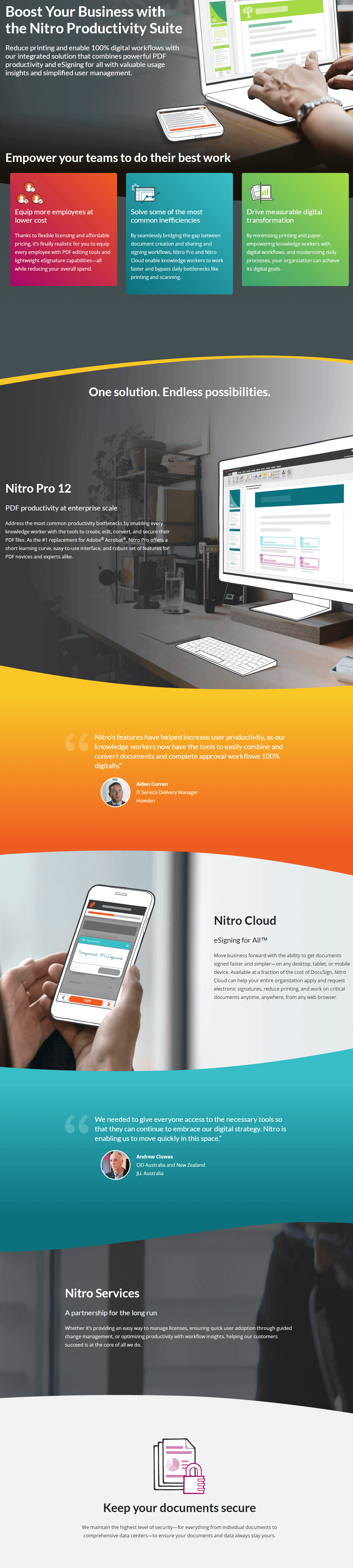 Nitro Productivity Suite 25% Discount