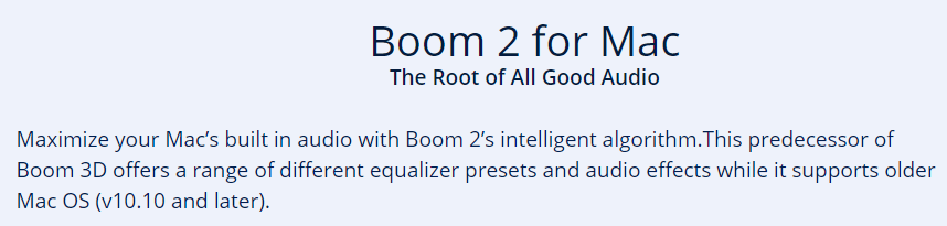Boom 20% Discount