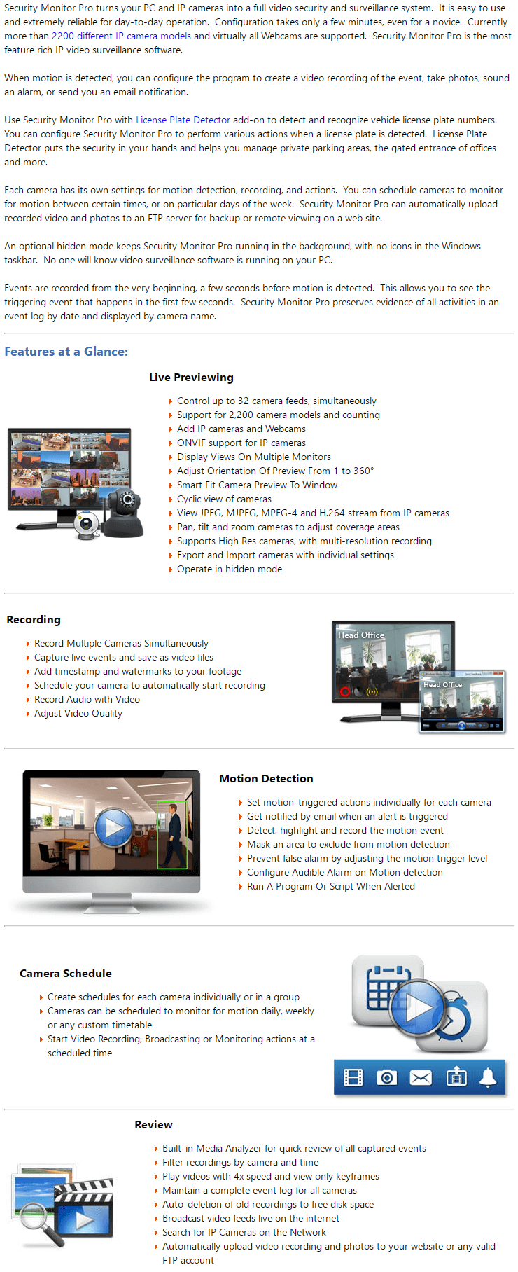 Security Monitor Pro's Feature