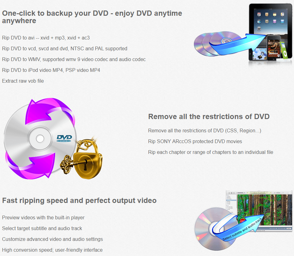 Boilsoft DVD Ripper Feature