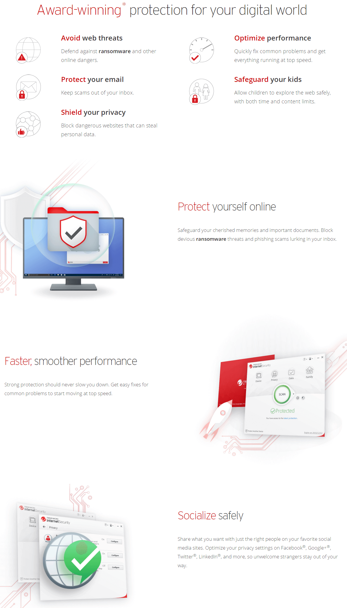 Trend Micro Internet Security Feature
