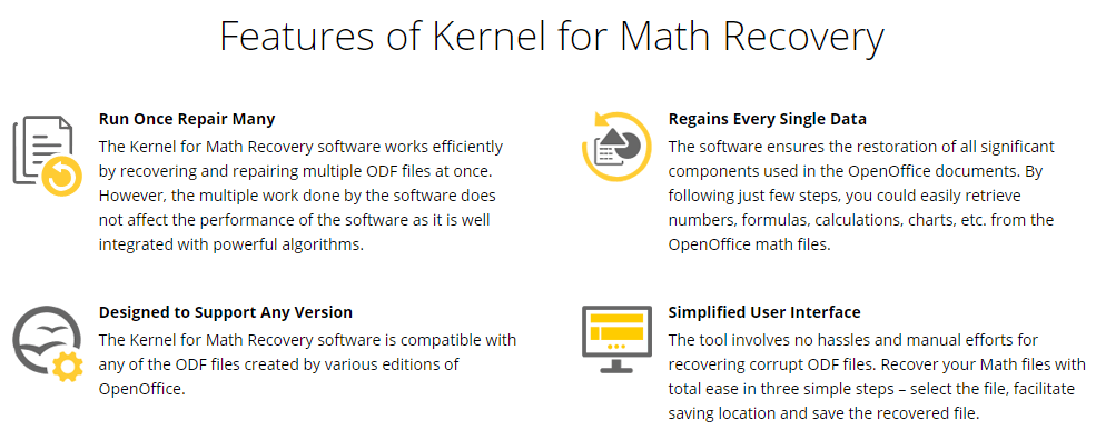 Kernel for Math Feature