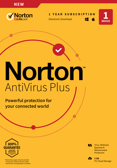 Norton AntiVirus Plus Discount Coupon