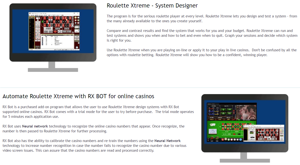Roulette Xtreme's Feature