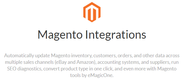 Magento Integrations's Feature