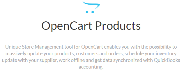 OpenCart Products's Feature