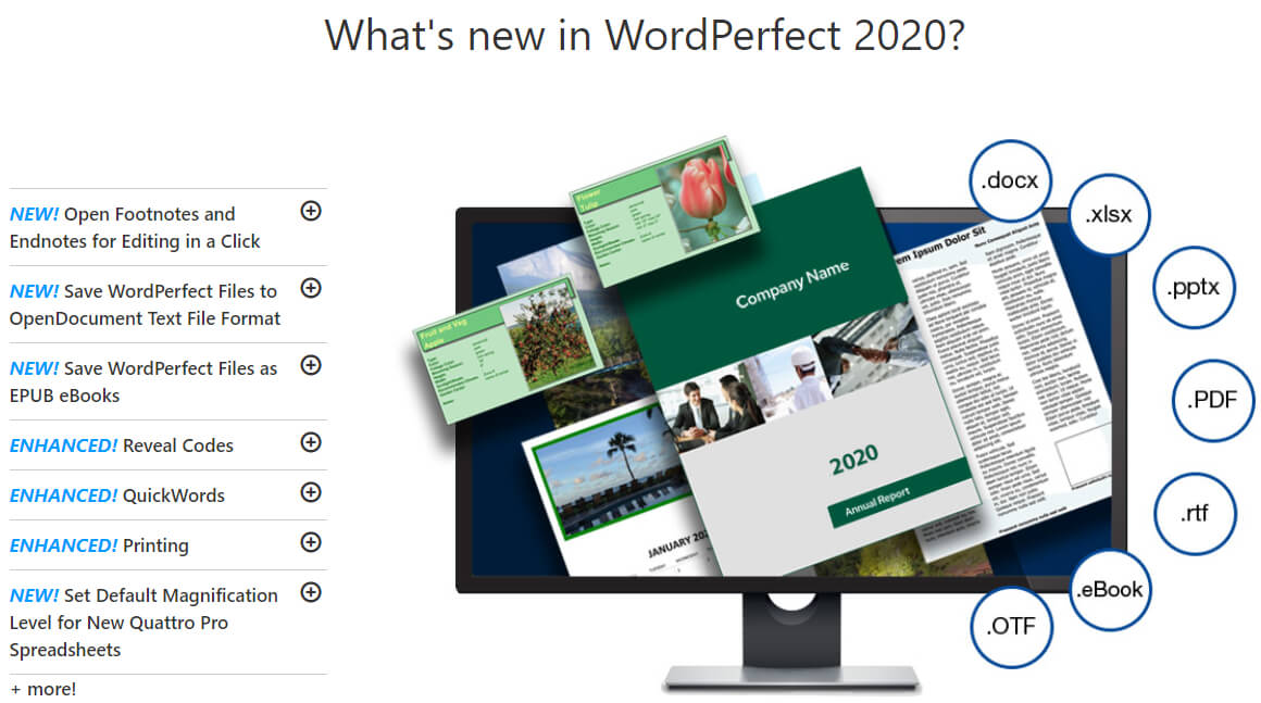 WordPerfect Office Professional's Feature