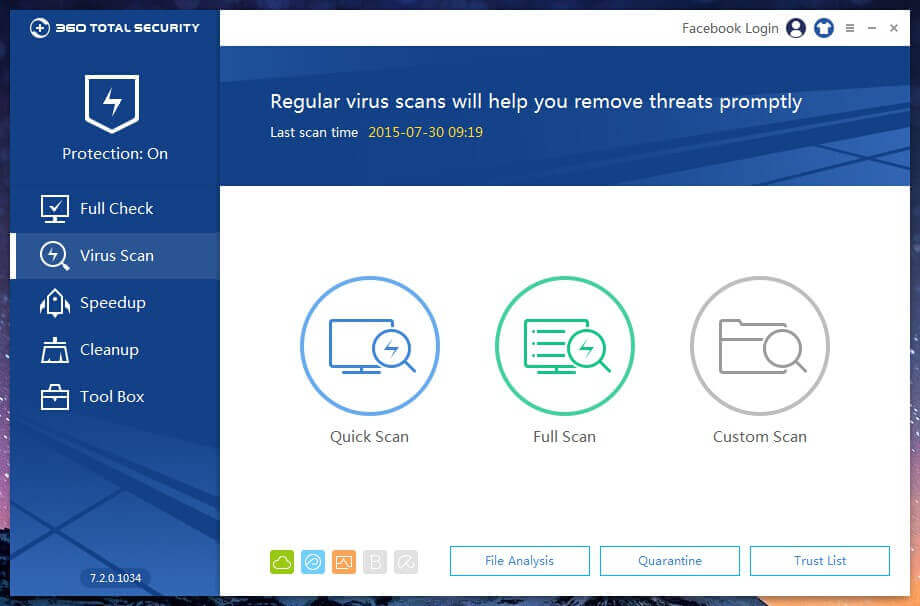 360 Total Security Official Download - Freeware