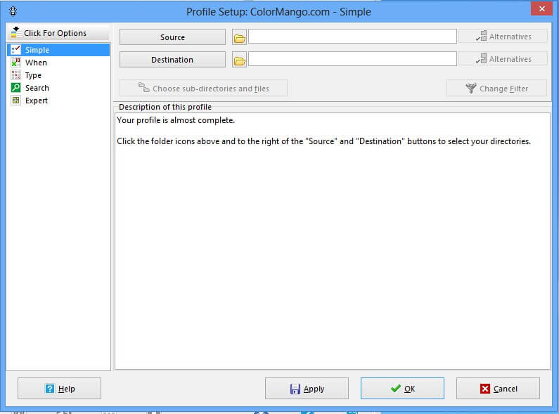 syncback free download