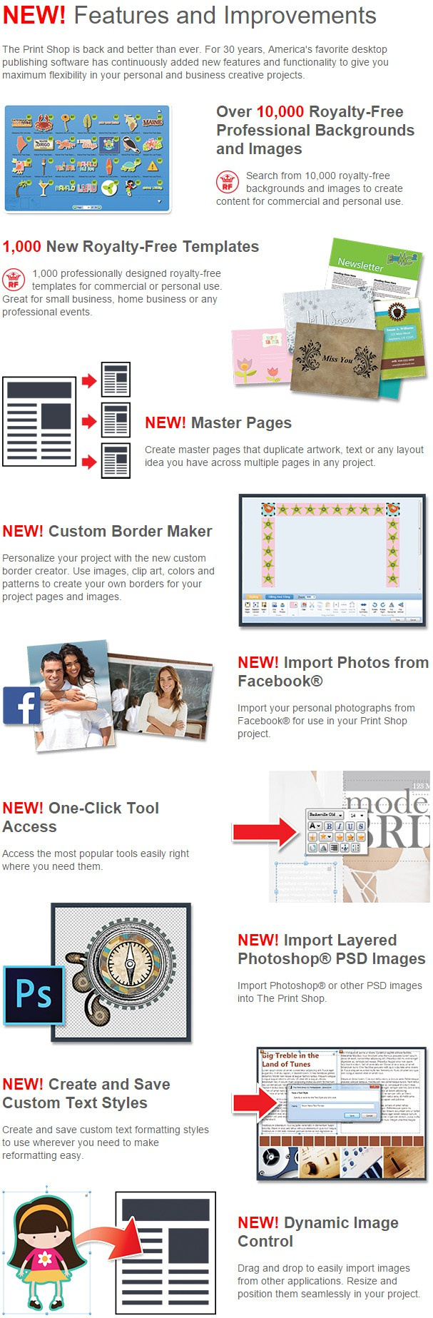 The Print Shop Professional NEW Features and Improvements