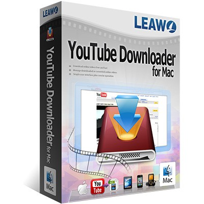 Leawo YouTube Downloader for Mac 40% Discount