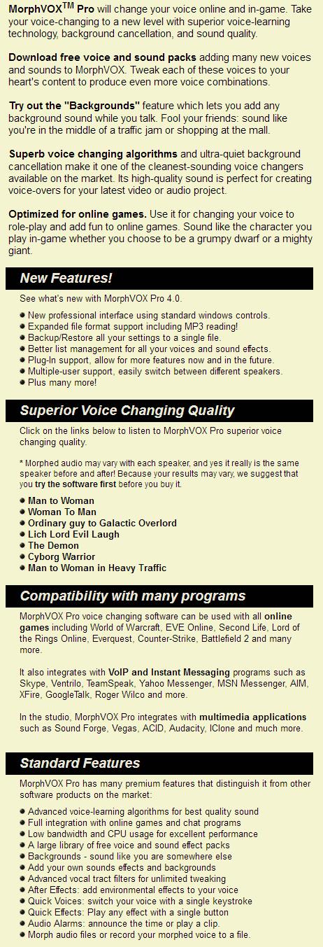 morphvox pro voices