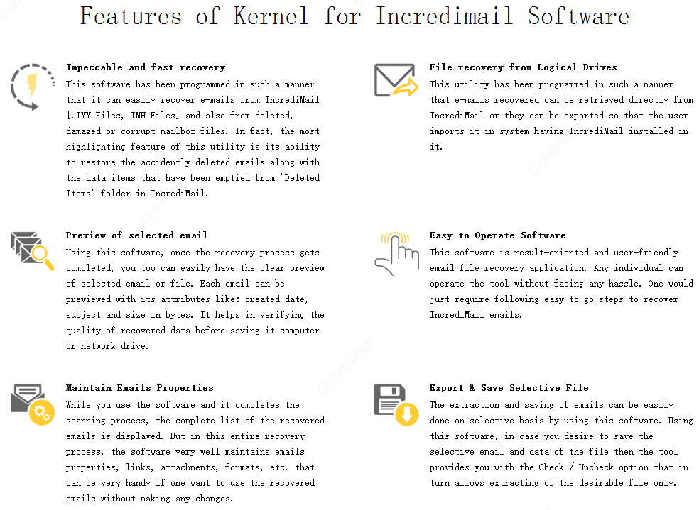 backup incredimail 2.5 manually
