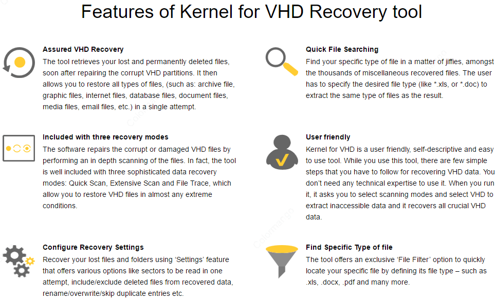 Kernel for VHD Recovery 25% Discount