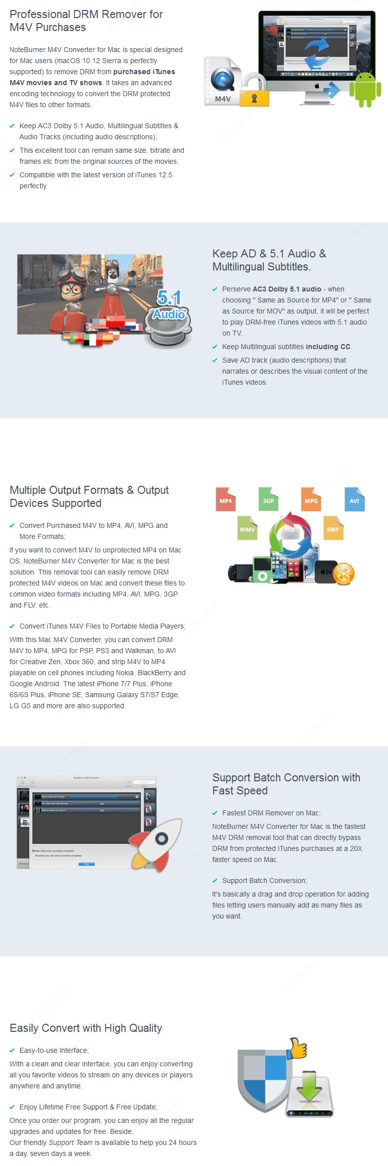 NoteBurner M4V Converter 10% Discount