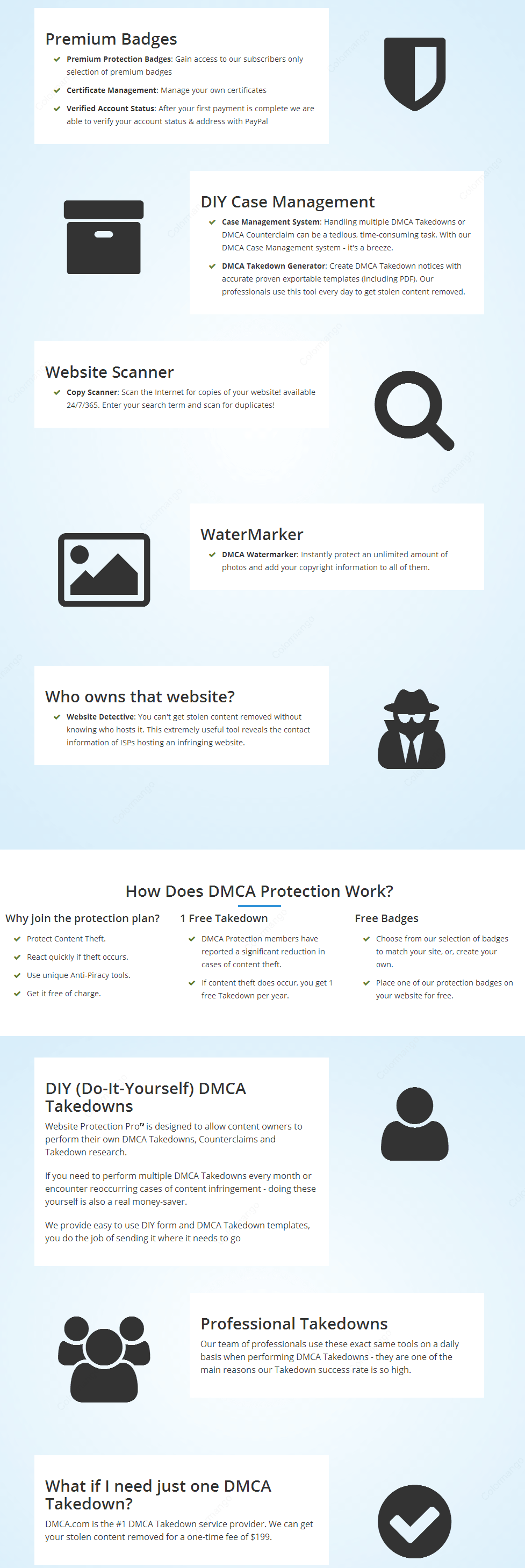 DMCA Takedown Online Shopping, Price, Free Trial, Rating & Reviews