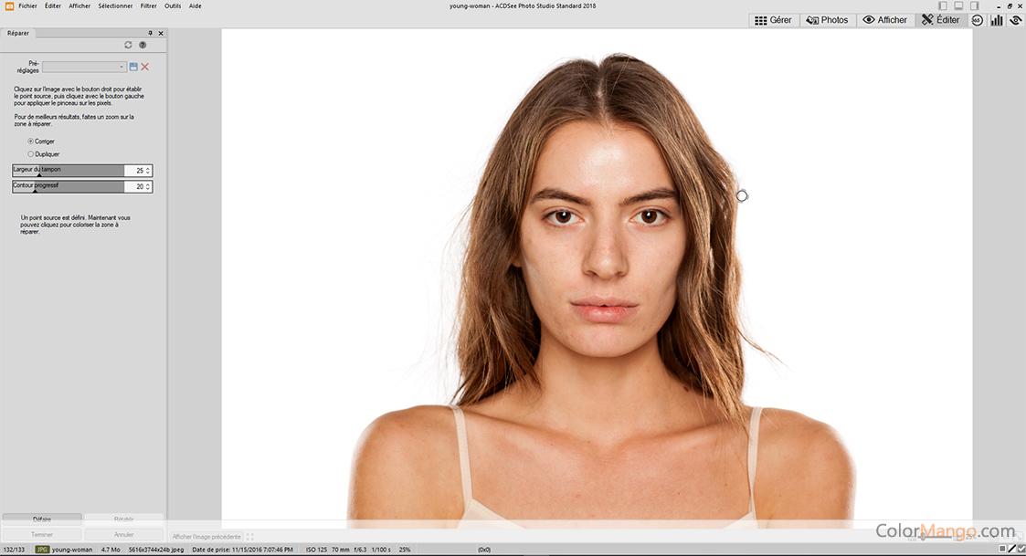 ACDSee Photo Studio Capture D'écran