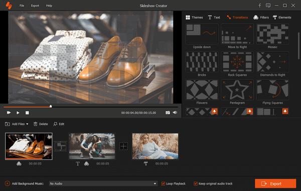 Aiseesoft Slideshow Creator Screenshot
