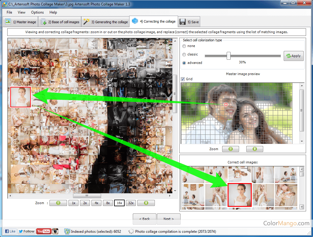 Artensoft Photo Collage Maker Screenshot