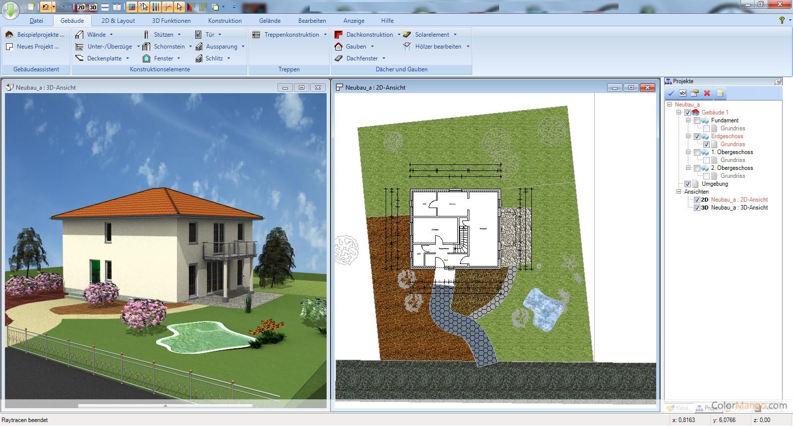 Ashampoo 3D CAD Architecture Bildschirmfoto