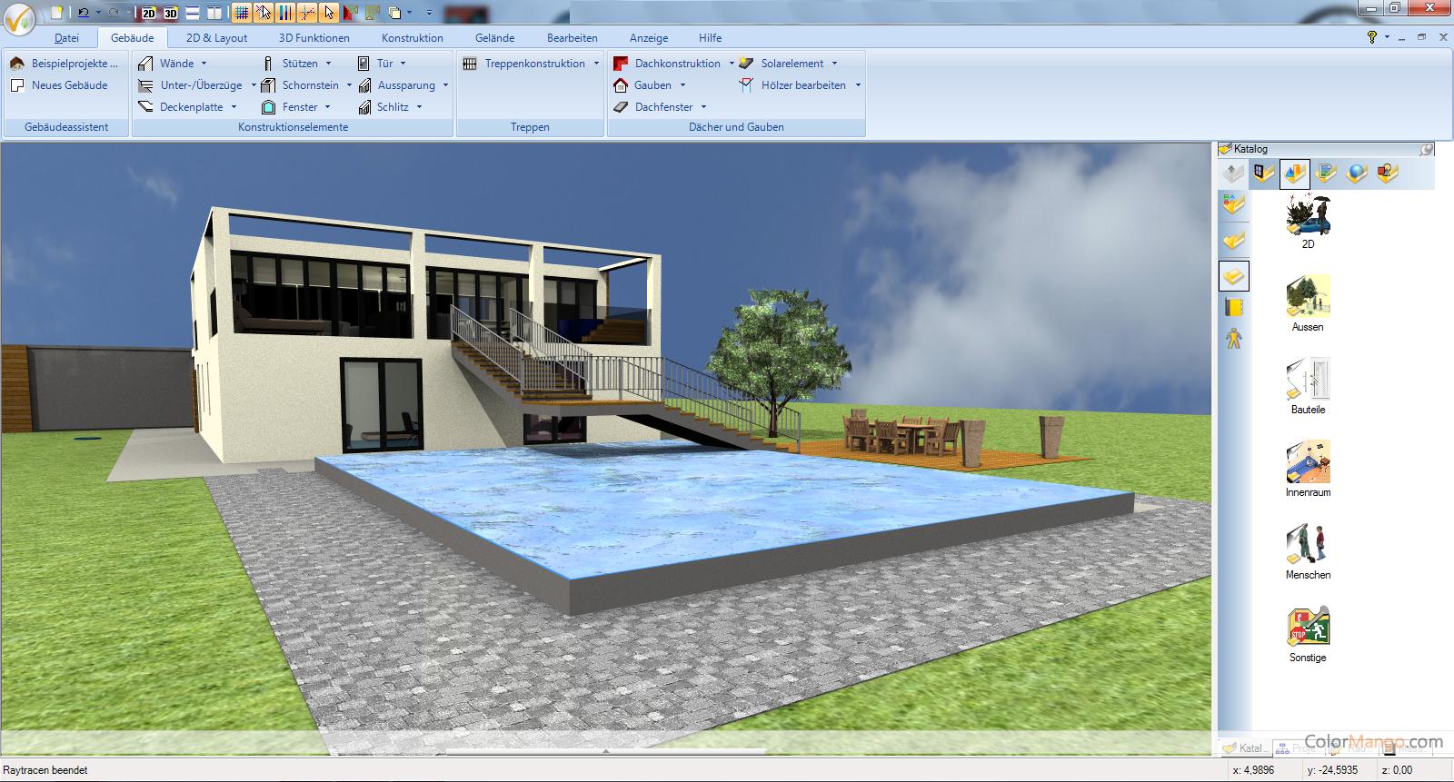 Ashampoo 3D CAD Professional Bildschirmfoto