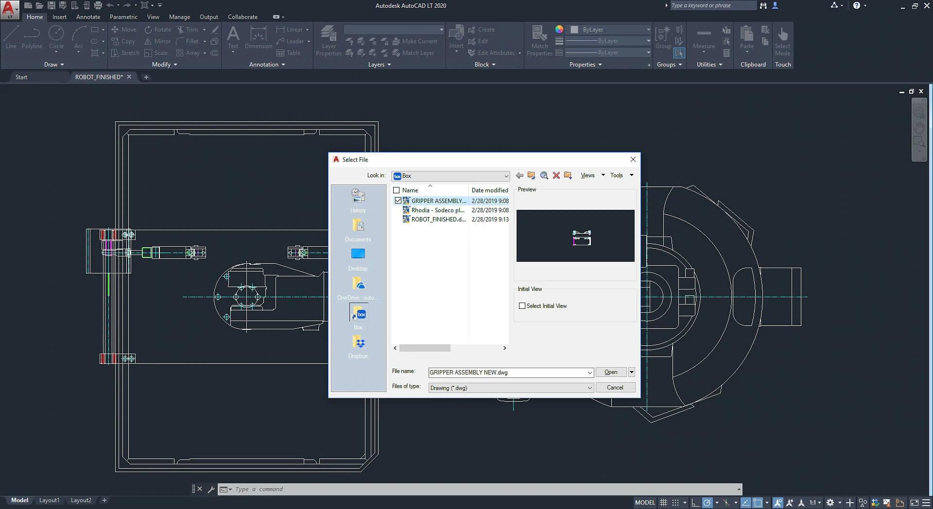 AutoCAD LT Screenshot