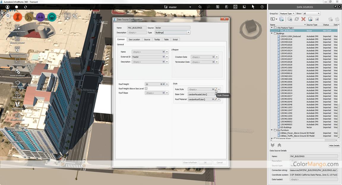 InfraWorks Screenshot