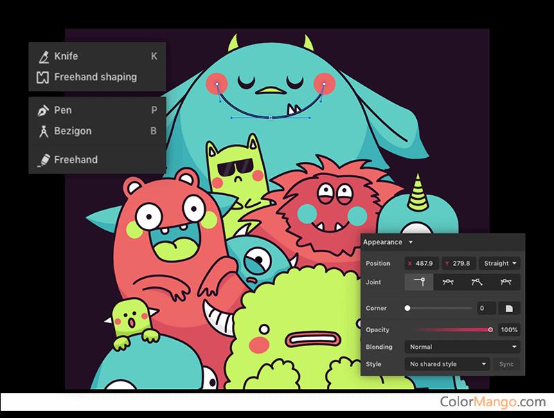 Gravit Designer PRO Screenshot