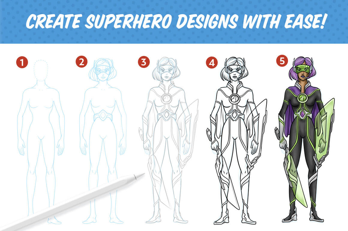 Hero Design Studio Screenshot