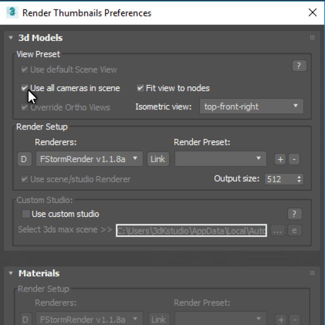 Batch Render&Relink Screenshot