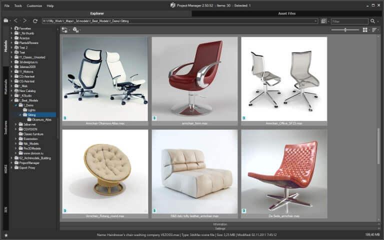 KStudio Project Manager Screenshot