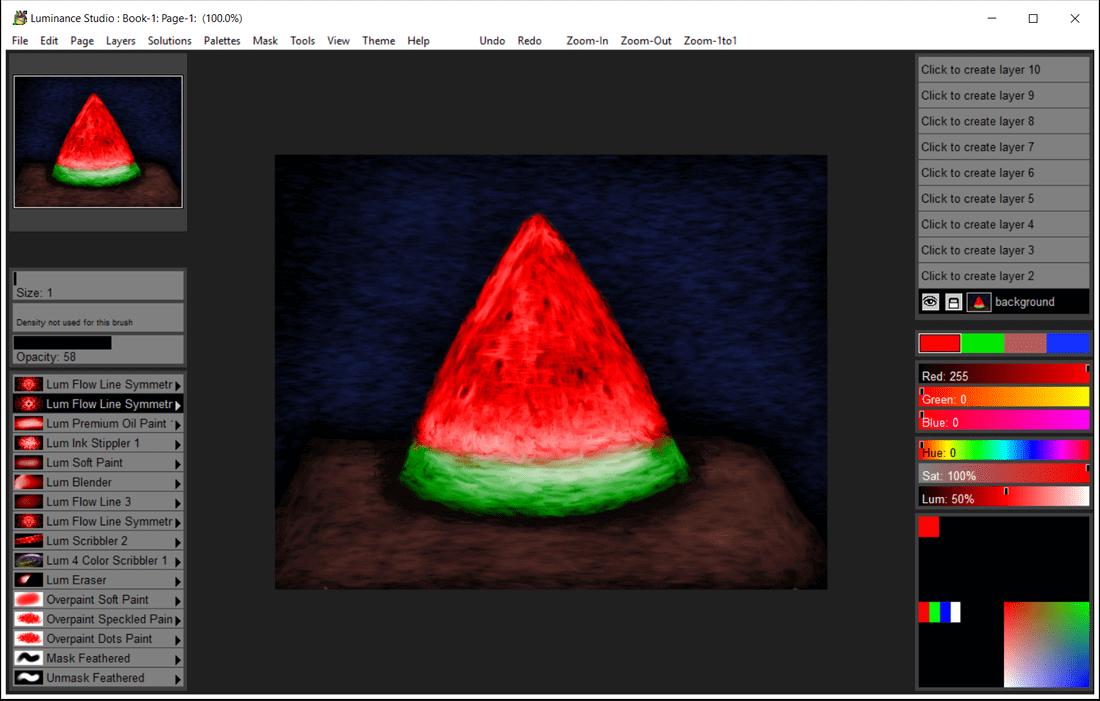 Luminance Studio Screenshot