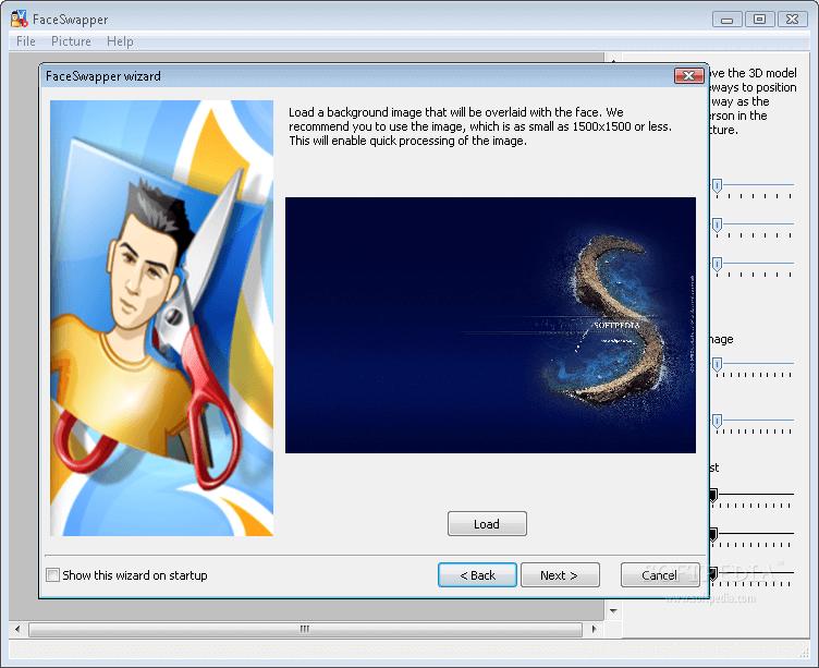 Luxand FaceSwapper Screenshot