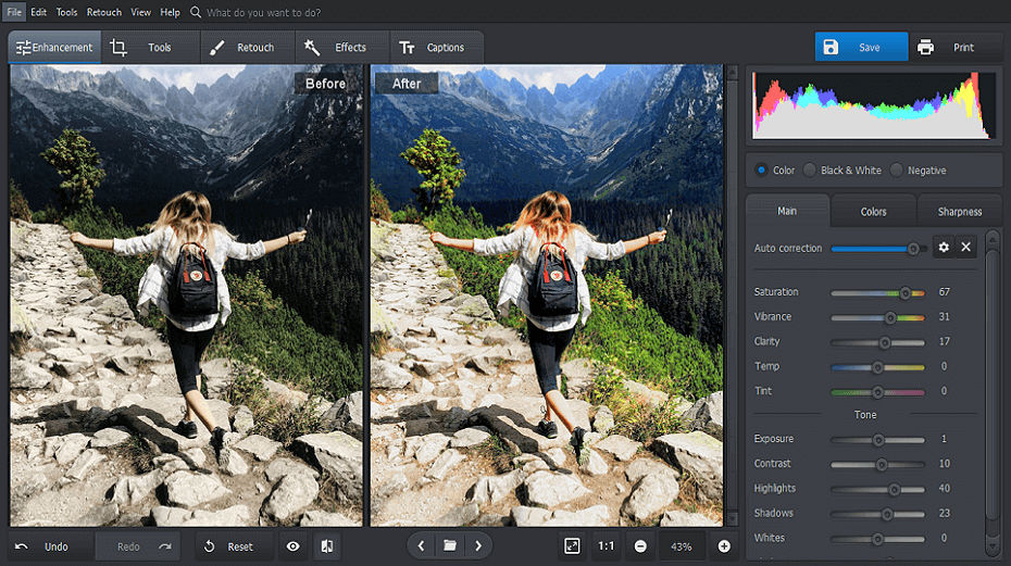 PhotoWorks Screenshot