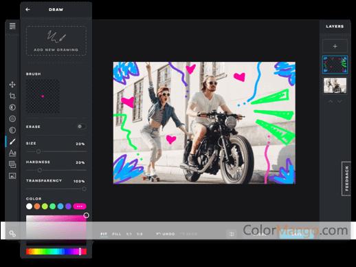 Pixlr Capture D'écran