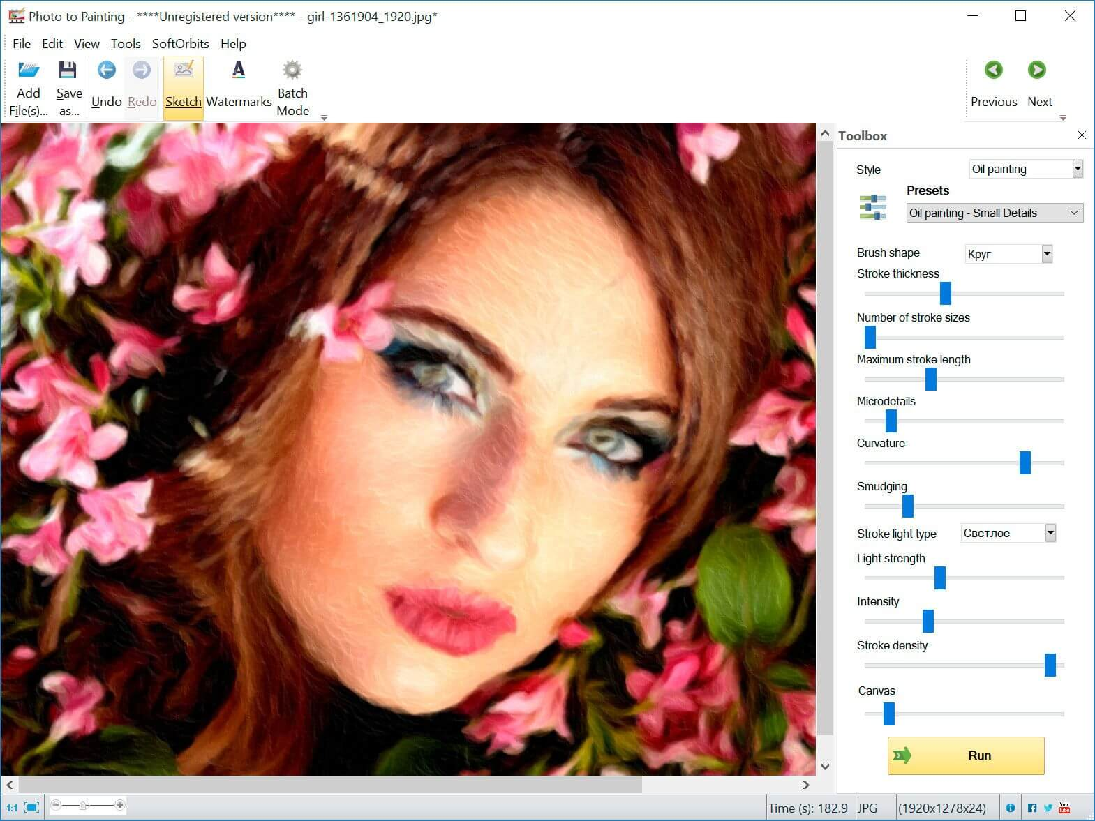 Sketch Drawer + Picture to Painting Converter Screenshot