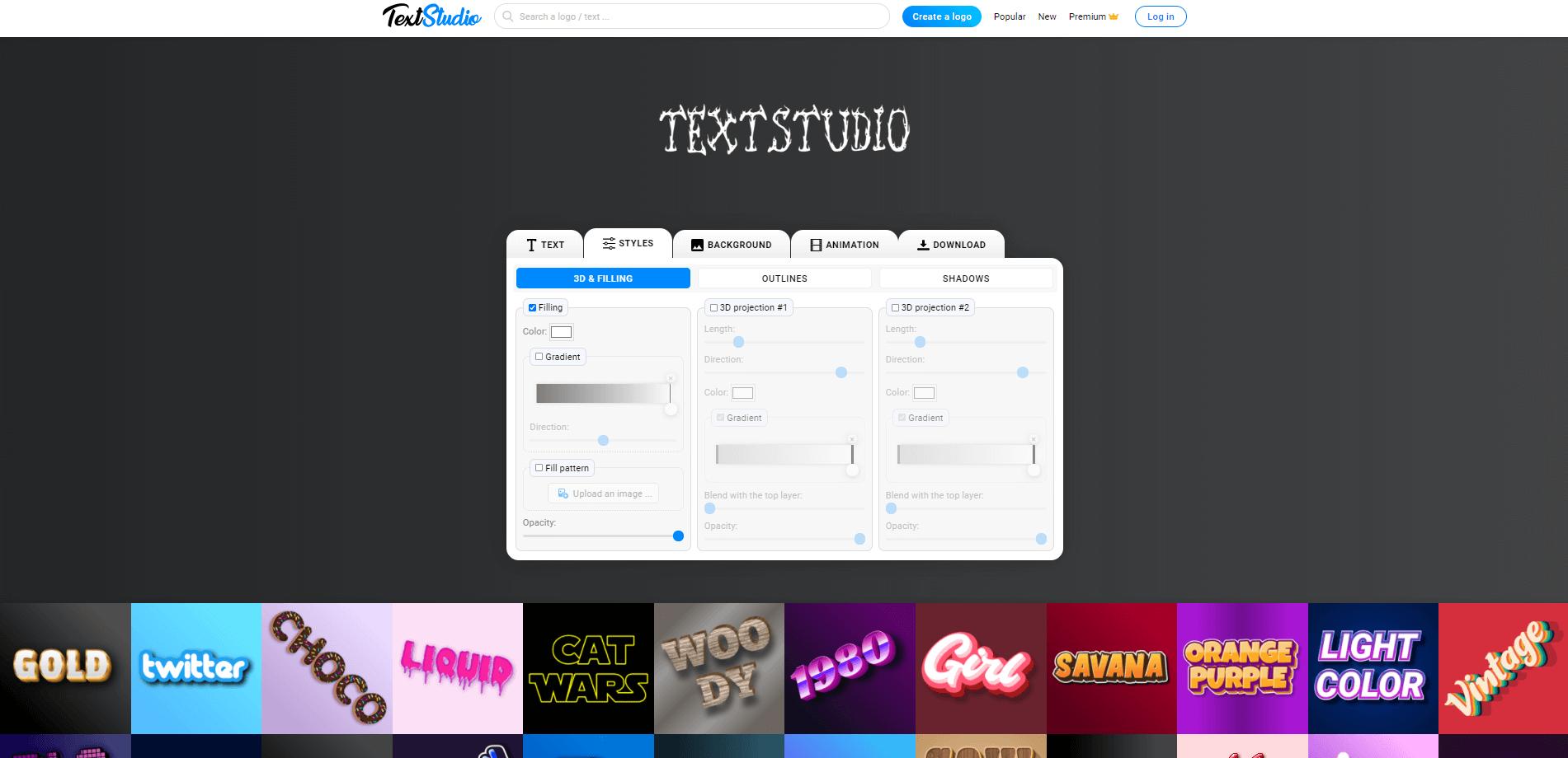 TextStudio スクリーンショット